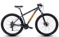 Bicicleta Aro 29 TSW Ride 21V 2021/2022 Nova geometria Cinza e Laranja tam 17 -