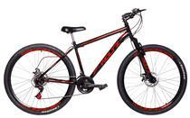 Bicicleta Aro 29 Woltz Aço Carbono Freios A Disco Garfo com Suspensão -