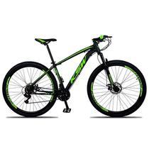 Bicicleta Aro 29 Xlt Cambios Shimano 21v Preto Verde Ksw -