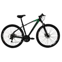 Bicicleta Aro 29ER 21 V Preto Verde - High One Revolution -