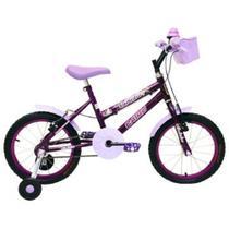 Bicicleta Aro16 Com Cesta Fem. Fadinha Cairu - 310008 -