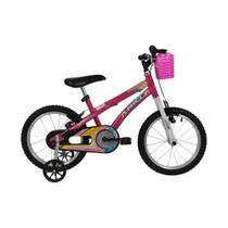 Bicicleta Athor Aro 16 Baby Girl Feminino Freios V-Brake Nylon -