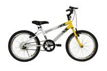 Bicicleta athor aro 20 mtb s/m  evolution masculino amarela -