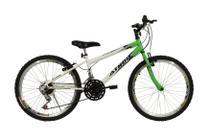 Bicicleta athor aro 24 mtb 18/m legacy masculino verde -