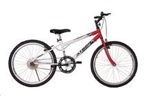 Bicicleta athor aro 24 mtb s/m legacy masculino vermelha -