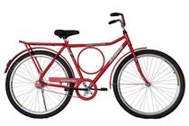 Bicicleta athor aro 26 executiva freio contra pedal vermelha -