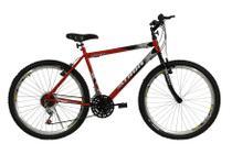Bicicleta athor aro 26 mtb 18/m  legacy masculino vermelha -