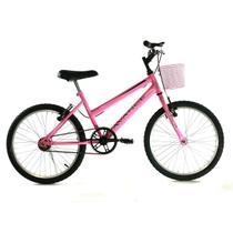 Bicicleta Avance aro 20 mtb feminina c\cestinha -