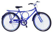 Bicicleta barra wendy c/aero e guidao com mesa cor azul -
