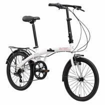 Bicicleta Bike Dobrável Aro 20 c/ 6 Velocidades DURBAN Eco+ -