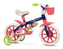 Bicicleta Bike Infantil Menina Aro 12 Nathor Show Luna -