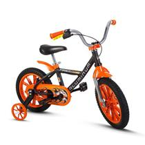 Bicicleta Bike Infantil Menino First Pro Aro 14 Nathor