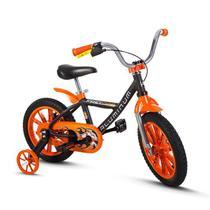 Bicicleta Bike Infantil Menino First Pro Aro 14 Nathor -