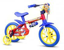 Bicicleta Bike Infantil Nathor Para Menino Aro 12 Fireman -