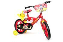 Bicicleta Bike Infantil Turma Da Aventura Aro 14 Vermelha - UNITOYS