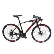 Bicicleta Bike Pneu Fino Speed Corrida 21 Marchas Shimano Aro 26 Freio Disco - Braslu
