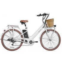 Bicicleta Blitz Elétrica Avanti Aro 26 6v Lítio - branca - A26 -