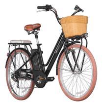 Bicicleta Blitz Elétrica Avanti Aro 26 6v Lítio - preta - A26 -