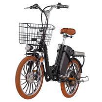 Bicicleta Blitz Elétrica Life Aro 20 Lítio 350w -