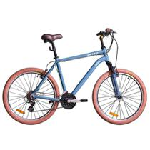 Bicicleta Blitz Híbrida - Siena 21v Altus - A26 - azul -