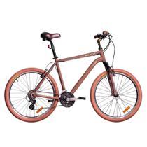 Bicicleta Blitz Híbrida - Siena 21v Altus - A26 - marrom -