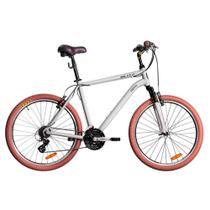 Bicicleta Blitz Híbrida - Siena 21v Altus - A26 - prata -