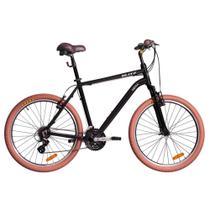 Bicicleta Blitz Híbrida - Siena 21v Altus - A26 - preta -