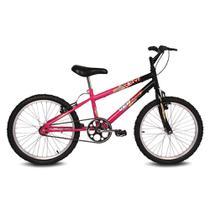 Bicicleta Brave - Aro 20 - Preto e Pink - Verden Bikes -