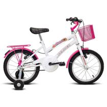 Bicicleta Breeze - Aro 16 - Branco e Pink - Verden Bikes -