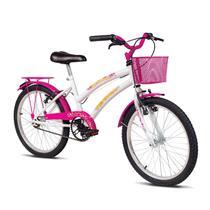 Bicicleta Breeze - Aro 20 - Branco e Pink - Verden Bikes -