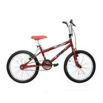 Bicicleta Cairu 20 Masc Freest Sup Max Light  Vermelha -