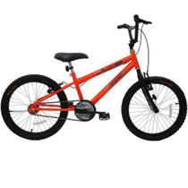 Bicicleta cairu 20 reb cross flash boy lar neon -
