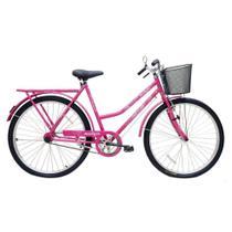Bicicleta Cairu 26 Malaga r Dup C/ct Fem Rosa/pink -