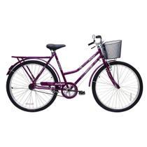 Bicicleta Cairu 26 Malaga r Dup C/ct Fem Violeta -
