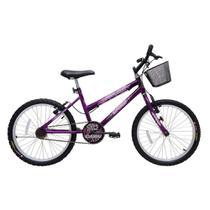 Bicicleta Cairu Aro 20 Mtb Feminino Star Girl ROXA- 310154 -