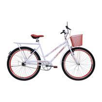 Bicicleta Cairu Aro 26 Cesta Feminino Personal Genova 311010 -