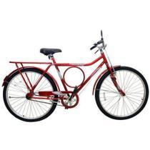 Bicicleta Cairu Aro 26 Masculina Potenza 310142 - Vermelho -