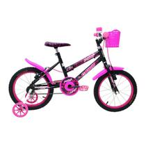 8b5d763f5 Bicicleta Cairu Aro16 com Cesta Feminina C-High