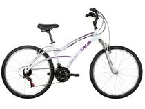 Bicicleta Caloi 100 Sport Aro 26 21 Marchas  - Suspensão Dianteira Quadro Alumínio Freio V-brake