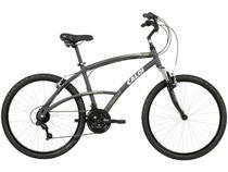 Bicicleta Caloi 400 Aro 26 21 Marchas - Câmbio Shimano TZ Freio V-brake