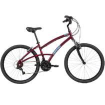 Bicicleta Caloi 400 Comfort Aro 26 Vinho 1 UN Caloi -