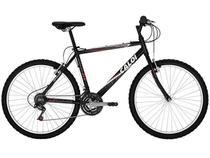 Bicicleta Caloi Aluminum 21 Marchas Aro 26 - c/ Quadro de Alumínio e Câmb Grip System