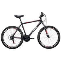 Bicicleta Caloi Aluminum Sport Aro 26, 21 Marchas MTB, Suspensão Dianteira, Preta -
