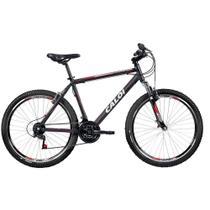 Bicicleta Caloi Aluminum Sport Aro 26 21 Marchas Suspensão Dianteira Quadro de Alumínio -