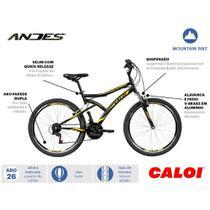 Bicicleta Caloi Andes Aro 26 21V -