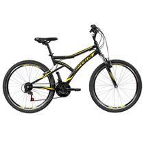 Bicicleta Caloi Andes Aro 26, Freio V-Brake,  21 Marchas Preta -