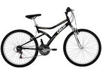 Bicicleta Caloi Andes Banco Facilmente Ajustável - Aro 26 21 Marchas - Grátis Espelho e Campainha