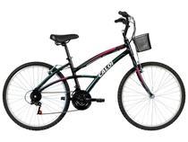 Bicicleta Caloi Aro 26 21 Marchas Quadro Alumínio - Freio V-brake