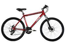 Bicicleta Caloi Aro 26 21 Marchas Quadro Alumínio - Suspensão Zoom (50 mm curso)