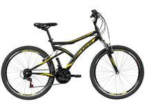 Bicicleta Caloi Aro 26 21 Marchas Suspensão Dianteira Frio VBrake Andes - Caloi -